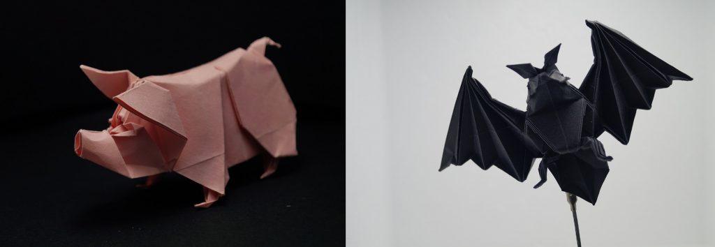 Exposición de origamis