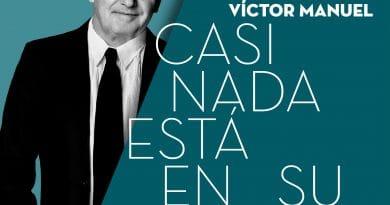 Víctor Manuel, Concha Velasco, Sidecars y Luis Piedrahita en la agenda del Palacio de Festivales