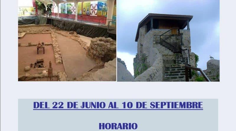 Flaviobriga y el monumento a Santa Ana, en Castro, podrán visitarse hasta el 14 de septiembre