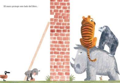'El muro en mitad del libro' o cómo enseñar a derribar muros