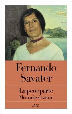 Fernando Savater presenta el miércoles 'La peor parte'
